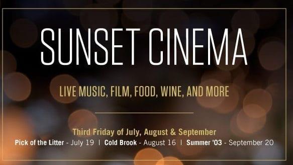 Sunset Cinema poster