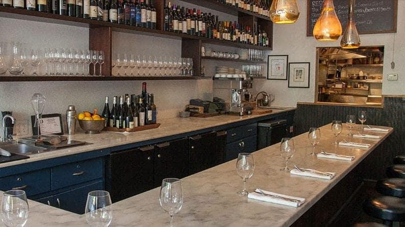 Bar at Cook St. Helena