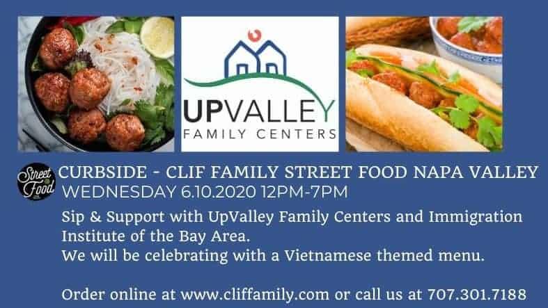 Clif Family Vietnamese menu