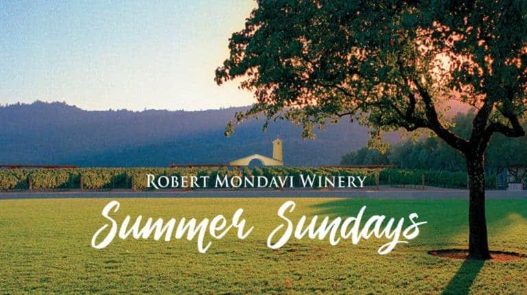 Robert Mondavi Winery Summer Sundays