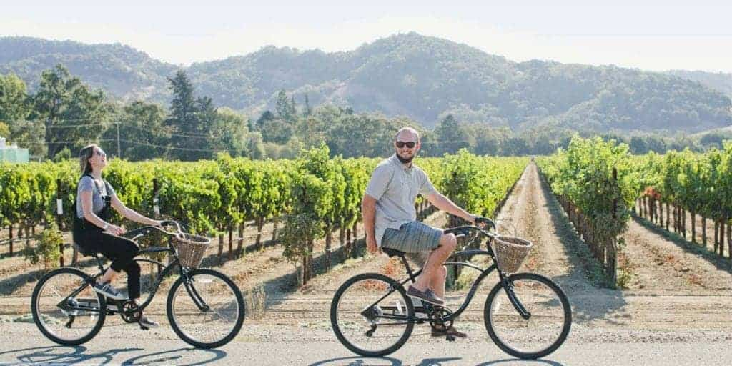 Biking in St. Helena