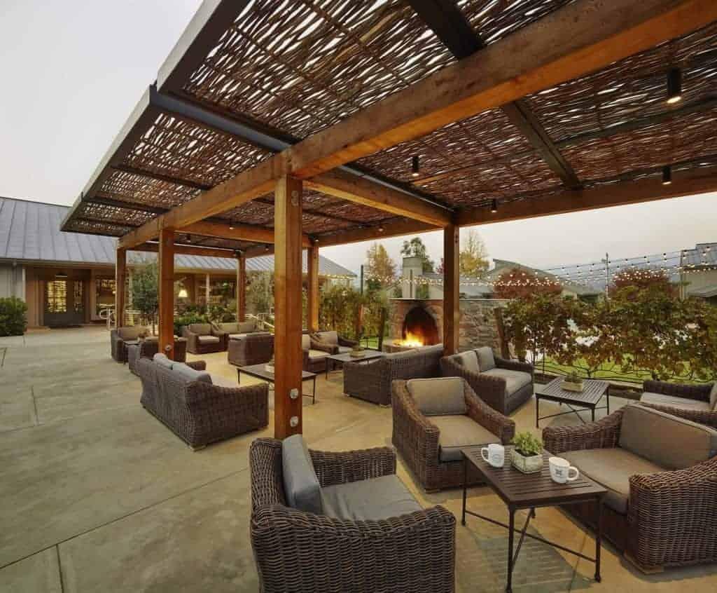 Brasswood outdoor area