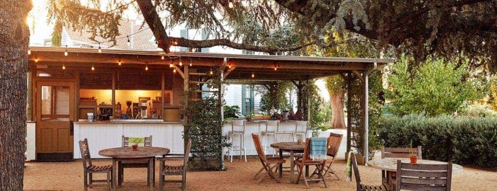 Farmstead outdoor dining