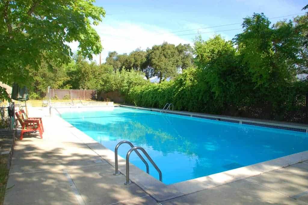Bothe Napa State Park swimming pool