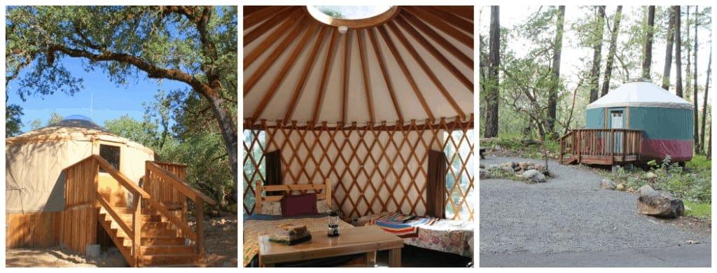 Bothe Napa cabins and yurts