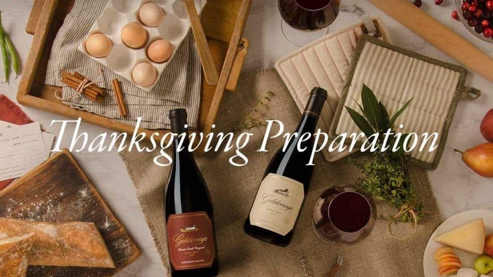 Duckhorn thanksgiving wines