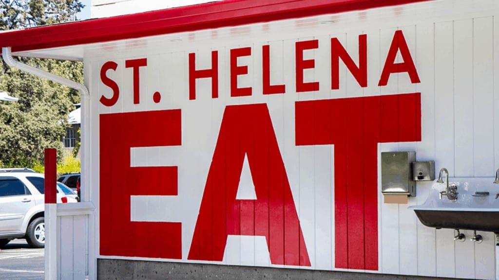 St. Helena Eat Mural