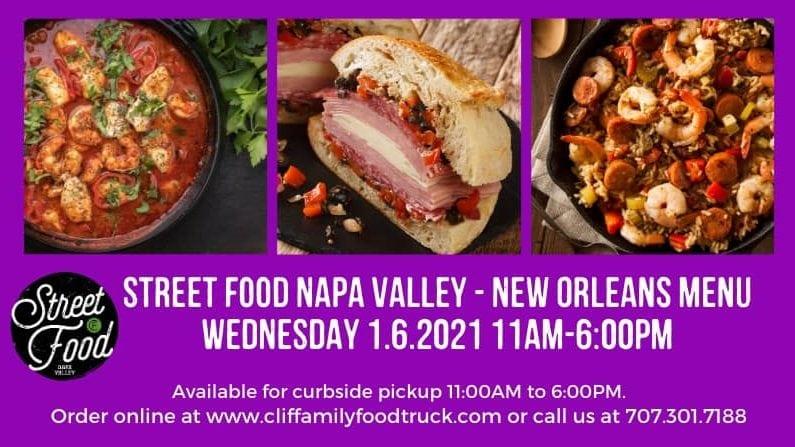 New Orleans Street Food Menu 01-06-21