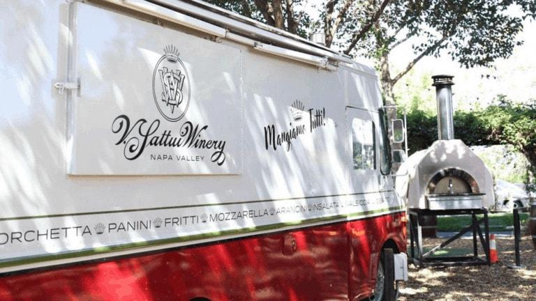 V. Sattui food truck