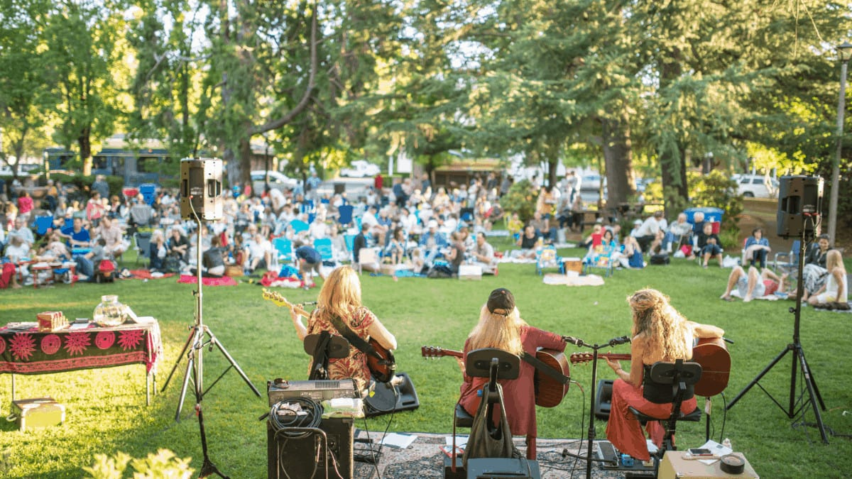 Performers at St. Helena Concert Series