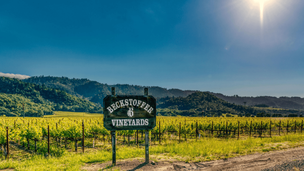 Exploring St.Helena's historical roots with Beckstoffer Vineyards